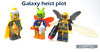 Galaxy heist plot (WhiteFang (Eurobricks)) Tags: lego minifigures cmfs movie blockbuster dc comics heroes bad guys baddies hero characters city town superheroes costume collections collectable fleshie licensed batman superman
