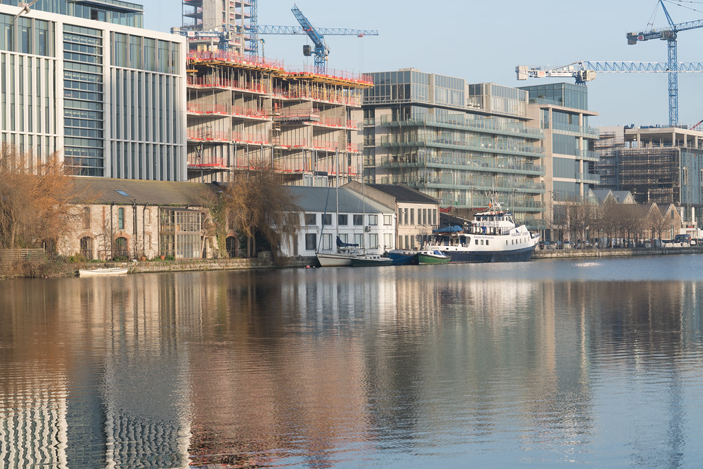 GRAND CANAL DOCK AREA OF DUBLIN [PHOTOGRAPHED 11 JANUARY 2018]-135449