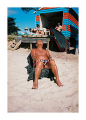 (jimmmyange) Tags: mju ii olympus point shoot kodak portra 160 melbourne saftey beach victoria australia summer 2018