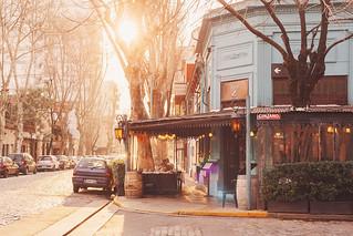 Sunny streets