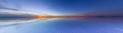 Awesome Uyuni Salt Flats (@abriendomundo) Tags: salardeuyuni uyuni uyunisaltflats colors colores awesome amazingnature amazing fantasticnature naturelovers lovetheworld love reflections mirror espejo skyaboveus sky canoneos600d tokina1116mmf28 naturaleza salar relax quiet calm travel bolivia sunrise amanecer crepusculo dawn dawnscape