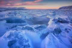 the magical twilight period in Svalbard (yan08865) Tags: svalbard ocean ice glacier frozen landscape norway arctic sea sky water sunset wave tempelfjord noorderlicht longyearbyen spitsbergen seascape nature earth global warming