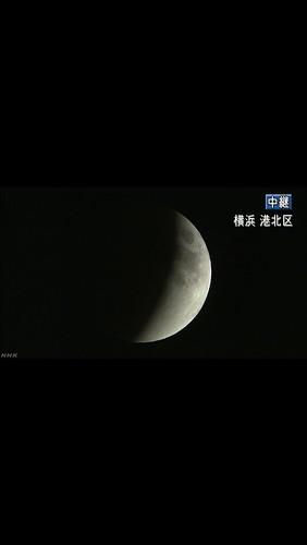 皆既月食 2018.1.31 21:31