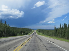 A storm (or a thunderstorm?) on Highway 16 between Jasper and Hinton, Alberta - part 1 (jimbob_malone) Tags: 2017 highway16 alberta