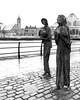Famine # 3 (Bog Bat) Tags: customhousequay dublindocklands ireland rowangillespie statues sculptures famine 1997 republicofireland greatirishfamine 1845 1849 capital perserverance ship 1846