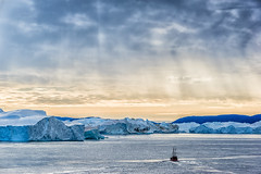 Towards the Giants (**capture the essential**) Tags: 2017 clouds cruise cruiseship diskobay diskobucht eisberge elemente greenland grã¶nland iceberg msdeutschland sonya7m2 sonya7mii sonya7mark2 sonya7ii sonyfe70200mmf28gmoss sonyilce7m2 wasser water wolken