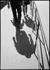 2017-08 - 095HF_03 (sarajoelsson) Tags: 135 svartvitt blackandwhite bw filmphotography film believeinfilm ilford everydaylife sweden stockholm digitizedwithdslr analog analogue teamframkallning ishootfilm urban city filmshooter xtol monochrome bnw olympus halfframe halvformat filmisnotdead snapshot vardag olympuspenee3 summer 2017 shadow people hp5 hp5plus slussen lightandshadow sunny august