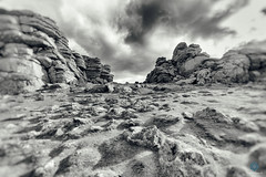 Alien Landscape - Hound Tor - Dartmoor (pm69photography.uk) Tags: alienlanscape alien mars hdr dartmoor moody moor moors southwest devon sony spooky sonya7rii sky ilce7rm2 a7rii atmospheric atmosphere analogeffexpro rugged rocks tors bw blackandwhite wideangle wide sony1635mmf28 1635mm