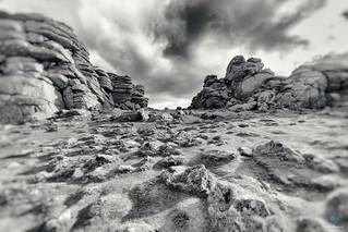 Alien Landscape - Hound Tor - Dartmoor