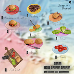 {YD} Burger Hungry - Gacha (*Your Dreams*) Tags: yourdreams newdecoration sandwich food thechapterfour 100 mesh original