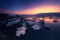 Magic blue (ALFONSO1979 ) Tags: clouds winter iceland travel amazing beautiful ice new river flickr read sea scape sun moon wow sky orange