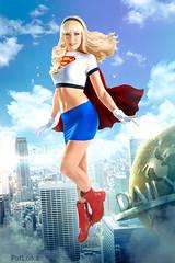 Supergirl! (PatLoika) Tags: supergirl cosplay costume maidofmight dccomics dccomicscosplay dcuniverse karazorel