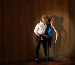 Argentinian Tango (toobila) Tags: ballroomdancing barbie barbiedoll mattel model madetomovedoll madetomovebarbie dollsoftheworld dollphotography doll fashion fashionphotography blonde blue white tango dance dancing fashionistasdoll fashionistashottie kendoll ken argentina argentinabarbie