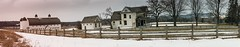 The D. H. Day Farm . . . (Dr. Farnsworth) Tags: dhday historic farm barns sleepingbear sand dunes pano panoramic vertical fence snow field glenarbor mi michigan winter february2018