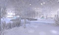 Kaleidoscope Island - Winter (NotTheReal Novaland) Tags: kaleidoscopeisland travel sl second life secondlife ultravi01ettnn winter place snow white
