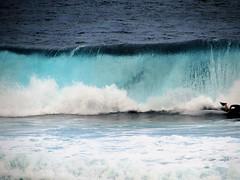 Ahead of the wave (thomasgorman1) Tags: bodyboarder bellyboard surfing surf crash hawaii canon oahu surfer sports