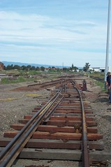 NRM - track work (p1001940) (ChrisBearADL) Tags: nrm portdock train railway australian museum rail railways south australia trains southaustralia