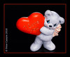 I LOVE YOU (Peter Camyre) Tags: valentines day friday love you iloveyou ceramic bear with holding heart red canon 5d mkiii peter camyre photography