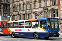 20337 R337 HFS (Cumberland Patriot) Tags: stagecoach fife scottish omnibus princes street edinburgh midlothian scotland volvo b10m b10m55 alexander ps 337 20337 r337hfs step entrance bus coach derv diesel engine road vehicle public transport 55 kelty express