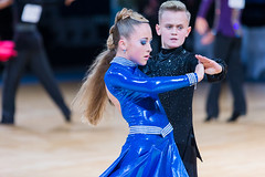 Minsk, Belarus-October 7, 2017: Professional Dance Couple Performs Youth-2 Latin-American Program on Alliance Trophy WDSF International Championship in December 17, 2017, in Minsk (DmitryMorgan) Tags: 1421years 2 2017 alliancetrophy belarus december17 idsa minsk wdsf youthlatinamericanprogram adults ballrooms caucasian chacha competition contest contestants costumes couple dance dancer dancesport emotions expression jive latinamerican music pasadoble professional rumba samba smile sound spectators sport two worlddancesportfederation youth