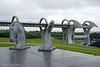 The Kelpies (Fallkirk) (♥ Annieta ) Tags: annieta juli 2017 sony a6000 holiday vakantie england scotland uk greatbritain falkirk wheel kelpies horses paarden sculpture beeld bootlift allrightsreserved usingthispicturewithoutpermissionisillegal
