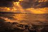 sunset 5413 (junjiaoyama) Tags: japan sunset sky light cloud weather landscape orange contrast colour bright lake island water nature winter rays beams wave