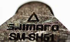 #MacroMondays and #Fasteners Shimano clip Feb19th 365-/50 (Aidan B Kelly) Tags: macro macromondays cycle clip fastener shimano