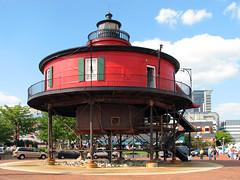 Seven Foot Knoll Lighthouse (Multielvi) Tags: baltimore maryland md city urban pier 5 v lighthouse inner harbor 7 seven foot knoll ft