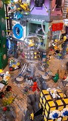 Drilling machine (Kloou.) Tags: drilling space legospace spaceclassic drill crater