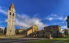 Aquileia (Fil.ippo) Tags: basilica di santa maria assunta aquileia friuli chiesa church sky cielo cloud nuvole hdr basilicadisantamariaassunta lupa
