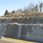 Section on the east side of the roadcut thumbnail