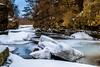 Vermillion Snowbergs (FJMaiers) Tags: vermillionriver vermillion river hastings minnesota winter limestone cliffs nikon d5300 ice