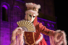Carnival of Venice in Rosheim 2018 - Carnaval vénitien de Rosheim 2018 Rosheim (3) (Cloudwhisperer67) Tags: people portrait mask canon carnival rosheim alsace france 2018 parade 760d venetian masquerade ball masked venise venezzia venice italy cloudwhisperer67 fest great colors flashy incredible amazing photgraphy love lovely blue robes robe costume costumes bal masqué divine comedy women girls girl woman light scape urban city magic poetry image photography fantasy bokeh travel trip color carnaval art fun europe europa 760 fortune teller witch music fan purple wonderful ambiance hat creative