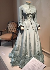 Victorian Silk Afternoon Dress, 1867 (Foxy Belle) Tags: museum costume 1800s clothing victorian era dress fashion