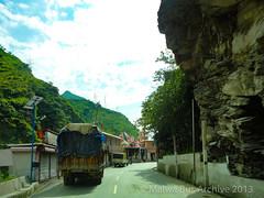 Himachal Pradesh, India (Malwa Bus Archive) Tags: 2013 india malwabusarchive studio1937 travel traffic nh3 himachalpradesh hanogimatatemple pandoh mandi