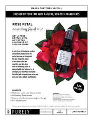 2018-03-march-customer-special (bepure.ly) Tags: customerspecial rosepetal facialmist specialoffers moisturizer aloevera whitetea