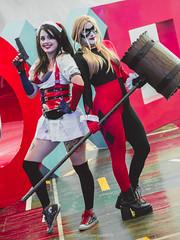 Tech Fest 2018 (San7z) Tags: roja cosplay harley quinn sailor moon venus ivy poison catwoman gatubela annie frostfire league legends lol comics joker msi hp vr nintendo switch playstation xbox one super mario dc