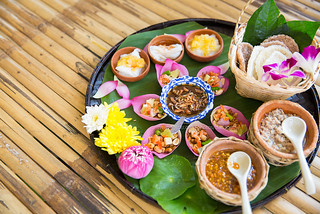 Beautiful Set of Thai Food.