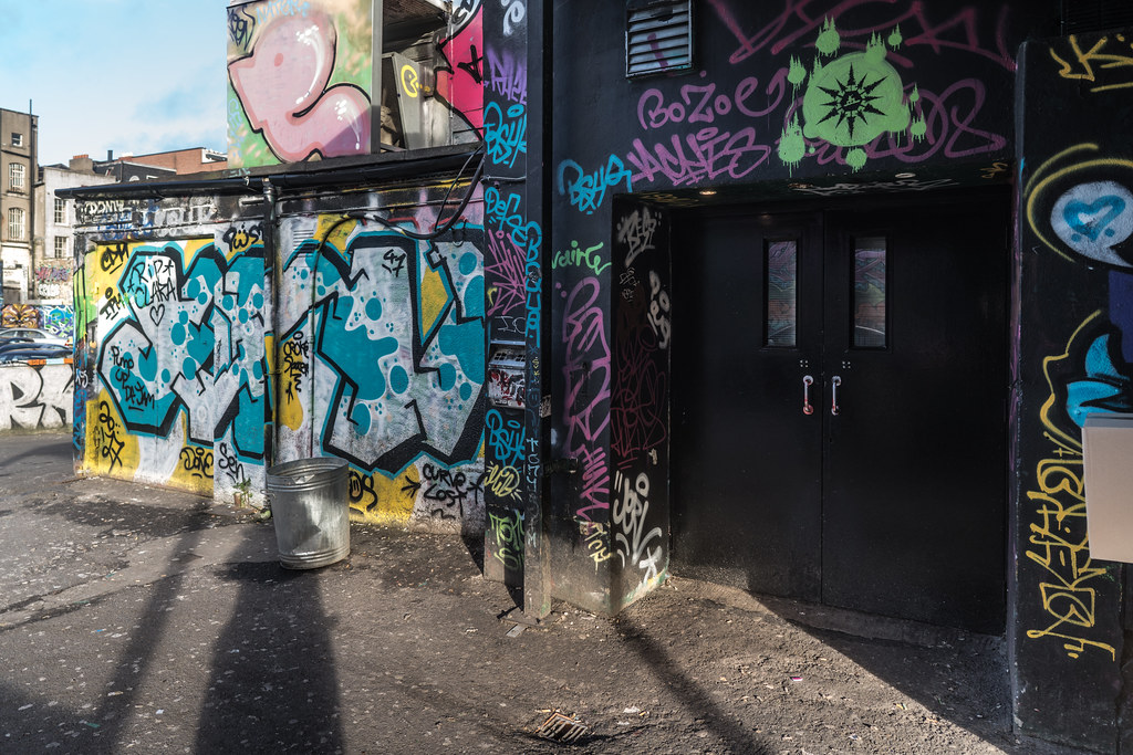 STREET ART AT THE TIVOLI CAR PARK IN DUBLIN [LAST CHANCE BEFORE THE SITE IS REDEVELOPED]-135628