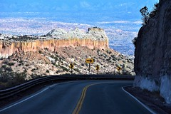 Curve ahead (thomasgorman1) Tags: highway nm nikon curve mountains canyon scenic view driving scenery