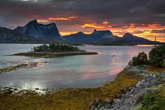 Ballangen Sunset (hapulcu) Tags: arctic ballangen nordland norge noruega norvege norvegia norway norwegen automne autumn autunno herbst høst toamna