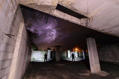 Trifecta (stephenk1977) Tags: australia queensland qld light painting art night nikon d3300 abandoned storm thunder lightning development urbex beam klarusxt2cr longexposure