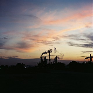 Industrial Side Sunset