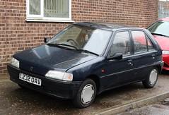 L232 OAV (1) (Nivek.Old.Gold) Tags: 1993 peugeot 106 xr 5door 1124cc timbrintoncars cambridge