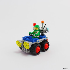 Lunar Exploration Rover (Kloou.) Tags: lego kloou space rover legospace exploration classic rovers spaceclassic febrovery spacepanic
