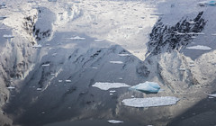 Reflections - Borgen Bay, Antarctic Peninsula (alejandro.romangonzalez) Tags: antarctica antarcticpeninsula britishantarcticsurvey bas water reflection sea coast anversisland borgenbay mountains snow glacier outdoors research rrsjamesclarkross