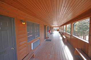 Lodge Room and Deck