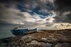 Hephaestus (glank27) Tags: hephaestus shipwreck malta landscape seascape karl glanville canon eos 5d mk iv ef 1635mm f4l rocks mediterranea long exposure drama sky bugibba coast wreck ship vessel ngc