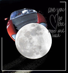 Love you to the Moon & Back II (Karen McQuilkin) Tags: loveyoutothemoonandback tesla space fun tracks fly valentine valentines starman flight love moondance spaceoddity vanmorrison davidbowie