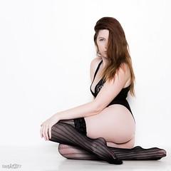 Roxanne-4245 (DEVSart) Tags: d810 nikon model redhead whitebackground longhair longlegs feet pretty beautiful
